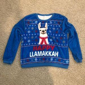 Happy Llamakkah🦙 Sweater